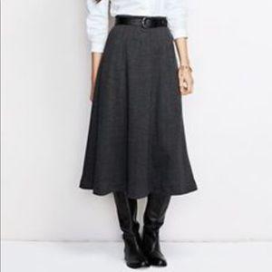 Lands End Knit Boot Skirt